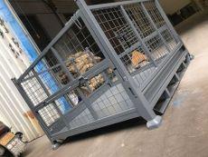 金属周转箱钢制废料箱不锈钢工业铁质周转笼