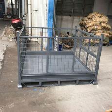 仓储笼折叠铁筐不锈钢周转箱零件运输箱