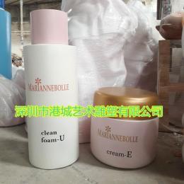 化妆品玻璃钢瓶子雕塑模型护肤品道具定制