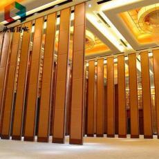 東營餐廳會議室折疊屏風活動隔斷墻高隔間