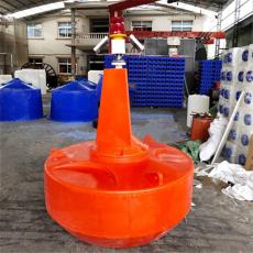 淺水浮標分體式塑料航標單點系泊浮筒批發