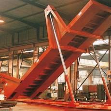 固定式散料卸货液压翻板卸车平台安装维修