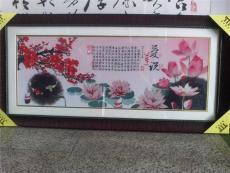 深圳福田装裱画框的店或裱十字绣的店