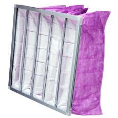 空调集中通风系统用中效袋式空气过滤器