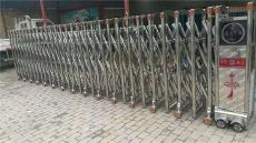 不锈钢伸缩门安装 上海电动伸缩门安装厂家