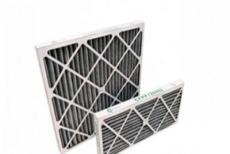 纸框折褶板式活性炭过滤器