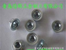 不锈钢304美制六角嵌入式螺母、镀彩锌美制六角嵌入式螺母、嵌入式铜螺母