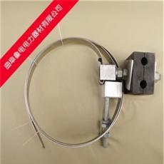 光缆金具 adss光缆杆用引下线夹 厂家直销 钢带型夹块 金具产品