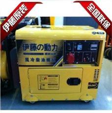 伊藤无人值守5KW三相柴油发电机 静音箱式