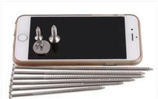 专业定做标准304 不锈钢沉头自攻螺丝钉、平头电子小螺丝钉