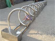 自行车停车架供应商 商场自行车停车架 组合式非机动车停放架