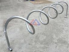 圆形助动车停车架 大同环保安全的自行车停车架
