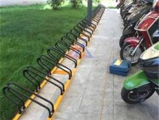 电动车停车架价格 商场电动车自行车停车架