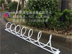 卡位式自行车停车架定做 不锈钢卡位式自行车停车架