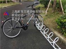 安乡县自行车停车位 屹岚自行车停车架 单车停车架