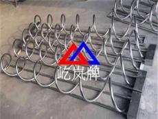 碳素钢螺旋式自行车停车架 圆钢电动车停车架
