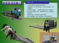 鷹潭市20噸便攜式地磅(帶雙引坡移動)