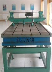 基础平台工作面采用刮研工艺用涂色法进行检验铸铁平台