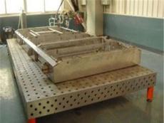 质优价廉的亚恒厂家讲述三维柔性焊接平台铸件内部的一些产品缺陷