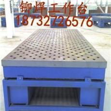 沈阳铸铁焊接平台铸铁平板铸铁划线平台铸铁T型槽工作台铸铁检测平台1500/250