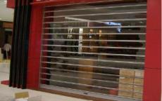 上海嘉定區商場透明卷簾門安裝 廠家直銷