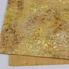 工廠直銷1.4米超寬燙金軟木墻紙免費拿樣