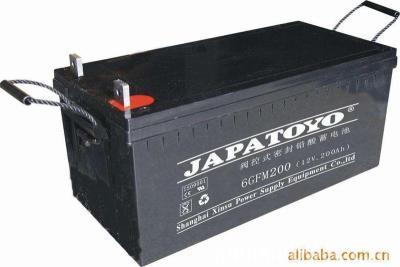 东洋JAPATOYO蓄电池6FM7 12V7AH通讯系统