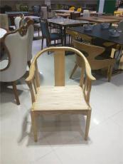 廣州肯麥餐飲家具純實木總統餐椅