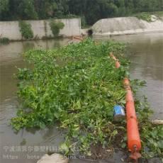 三門峽潮汐漂浮垃圾攔截浮筒攔污浮體 供應