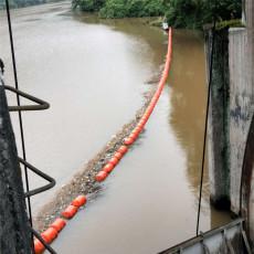 水庫1000米汛期攔污浮筒批發塑料浮排批發