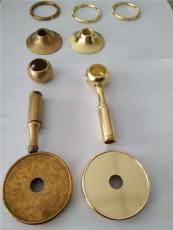 铜件抛光亮处理后效果