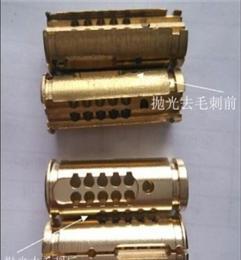 温州铝件锁壳、锁芯去毛刺抛光清洗设备 自动抛光机 厂家供应