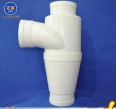 廠家直銷正亞PVC特殊單立管旋流降噪三通 排