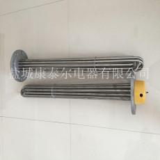 水箱法兰式电加热管-不锈钢锅炉法兰加热管