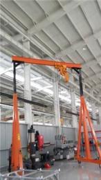 山东可移动龙门吊促销 小型龙门吊哪里好 1吨龙门吊价格