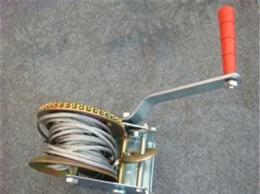 手摇绞盘生产厂家 钢丝绳手摇绞盘型号 1000磅手摇绞盘价格