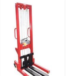 電動堆高叉車電動升高裝卸叉車 手推叉車1噸