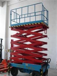 嵊州升降机 移动式升降平台 剪叉式升降货梯