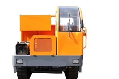 山東時利履帶車可自卸可特殊定制