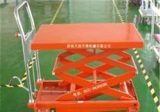 梧州液压手推车 轻便型货物堆高车 仓储物流脚踏式上货车