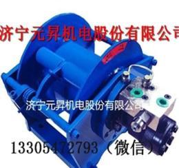 大扭矩液压马达卷扬机 2吨提升液压绞盘绞车价格
