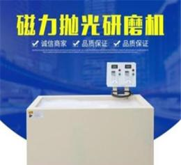 直销供应中创磁力抛光研磨机 P8130机型双机组磁力去毛刺抛光设备