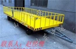 厂家制造散装货物厂区平板拖车