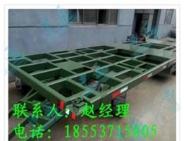 四川省框架式平板拖车,载重规格拖车价格