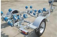 厂家直销 游艇拖车 各种类型拖车 汽艇拖车  游艇工具车
