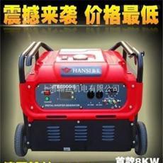 8kw静音交流数码变频发电机