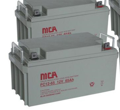 MCA蓄电池FC12-12 12V12AH直流屏专用