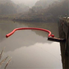 河道水面漂浮攔污排浮體垃圾攔污浮筒價格