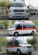 福特新世代全顺V348长轴高顶监护型救护车