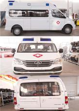 大通V80异型长轴高顶豪华转运型救护车